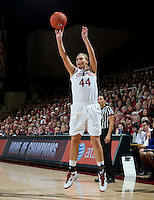 STANFORD CA-DECEMBER 30, 2010: Joslyn Tinkle during the Stanford 71-59 victory over UCONN at Maples Pavilion.