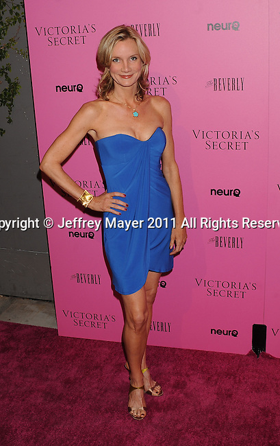 "LOS ANGELES, CA - MAY 12: Beth Littleford arrives to the Victoria's Secret 6th Annual ""What Is Sexy? List: Bombshell Summer Edition"" Pink Carpet Event at The Beverly on May 12, 2011 in Los Angeles, California."
