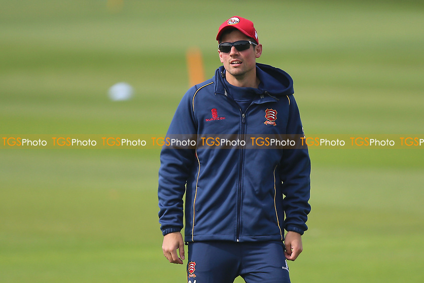Alastair Cook of Essex during Essex Eagles vs Hampshire, Royal London One-Day Cup Cricket at The Cloudfm County Ground on 30th April 2017
