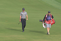 Paul Waring (ENG) on the 3rd fairway during Round 1 of the Omega Dubai Desert Classic, Emirates Golf Club, Dubai,  United Arab Emirates. 24/01/2019<br /> Picture: Golffile | Thos Caffrey<br /> <br /> <br /> All photo usage must carry mandatory copyright credit (&copy; Golffile | Thos Caffrey)