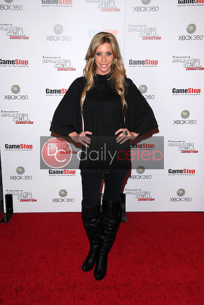 """Aubrey Fisher<br /> at the Game Stop and XBOX 360 Premiere of """"Splinter Cell Conviction,"""" Les Deux, Hollywood, CA. 04-01-10<br /> David Edwards/DailyCeleb.com 818-249-4998"""
