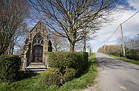 roadside chapel along the route<br /> <br /> Due to the international pandemic caused by the coronavirus COVID-19, the 82nd edition of Gent-Wevelgem in Flanders Fields (BEL/1.UWT), like all other Spring Classics in 2020, was cancelled which left the race roads (as the rest of the country in lockdown) eerily empty on race day…<br /> <br /> 1 day race from Ypres to Wevelgem (257km)<br /> <br /> ©kramon