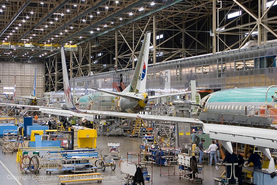 Resultado de imagen para Boeing 737 line assembly