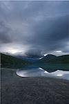 Early morning reflections in the Vågåvatnet near Lom, Norway.