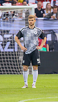 Timo Werner (Deutschland Germany) leicht frustriert wegen der Bank-Rolle - 11.06.2019: Deutschland vs. Estland, OPEL Arena Mainz, EM-Qualifikation DISCLAIMER: DFB regulations prohibit any use of photographs as image sequences and/or quasi-video.