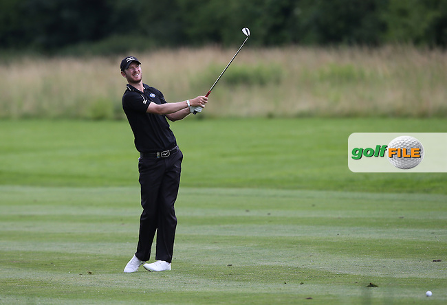 Chris Wood (ENG) plays to the 9th during Round One of the 2015 BMW International Open at Golfclub Munchen Eichenried, Eichenried, Munich, Germany. 25/06/2015. Picture David Lloyd | www.golffile.ie