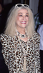Sylvia Miles attends an opening on March 1, 1987 in New York City.