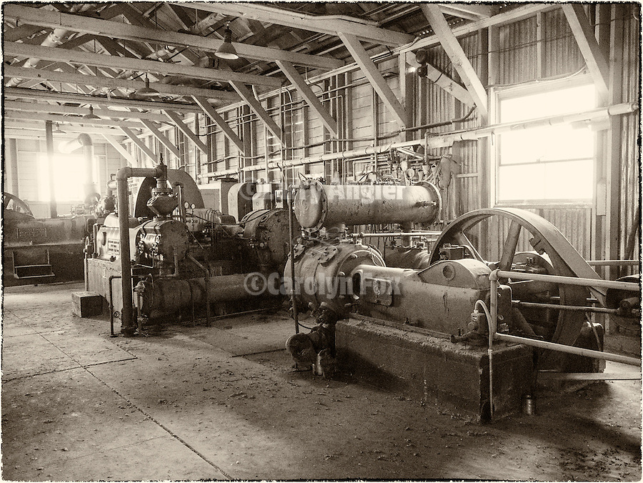 Compressed and generators, Ruby Hill Mine, Eureka, Nev.