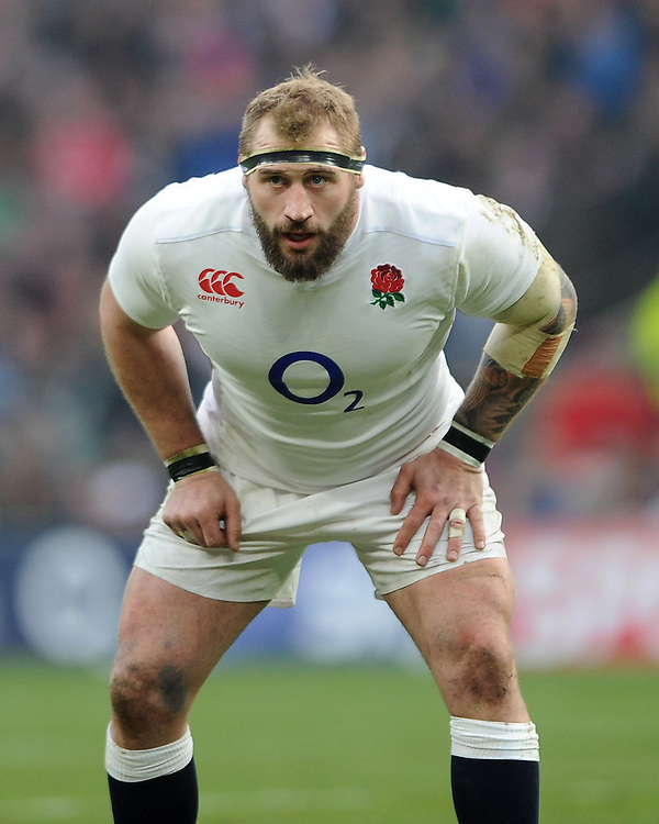 Joe Marler of England during the RBS 6 Nations match between England and Wales at Twickenham Stadium on Saturday 12th March 2016 (Photo: Rob Munro/Stewart Communications)
