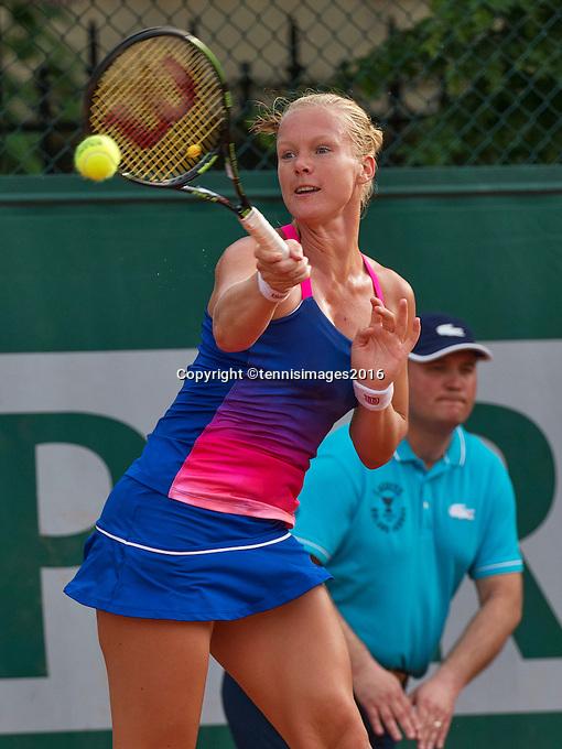 Paris, France, 28 June, 2016, Tennis, Roland Garros, Kiki Bertens (NED)<br /> Photo: Henk Koster/tennisimages.com