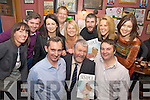 "Jerry Kennelly and Jerry Clifford, pictured with Cllr Johnny ""Porridge"" O'Connor, Fiona Lynch, Paudi Cronin, Johanna Kennelly, Maurice McCarthy, Siobhan Naughton, Tim Clifford, Mary Stapleton and Marie Lynch, at the launch of their book ""Entrepreneurship Made Simple"" in Falveys Bar, Killorglin on Friday night.   Copyright Kerry's Eye 2008"
