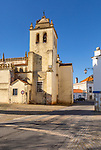Church Igreja Matriz de Nossa Senhora da Assunçãoin, village of Alvito, Beja District, Baixo Alentejo, Portugal, southern Europe