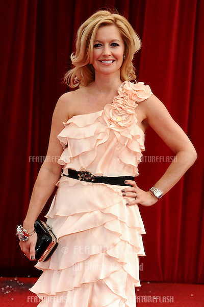 Alexandra Fletcher arrives at the British Soap awards 2011 held at the Granada Studios, Manchester..14/05/2011  Picture by Steve Vas/Featureflash