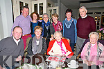 95th Birthday: Nan Hurley, Athea celebrating her 95th birthday with family at the Listowel Arms Hotel on Saturday last. Front : Sheamus & Anne riley, Nan Hurley & Joan Boylan. Back : Denis & Mary Hurley, Mary Collins, Brownie White, Mary Moore & Tony Sexton.