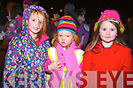 Pictured at the Aquadome fireworks on New Year's Eve were l-r: Roisin Sugrue, Sinead Knightly and Evelyn Mason (Tralee).