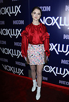 "HOLLYWOOD, CA - DECEMBER 5: Raffey Cassidy, at the LA Premiere Of Neon's ""Vox Lux"" at ArcLight Hollywood in Hollywood California on December 4, 2018. Credit: Faye Sadou/MediaPunch"