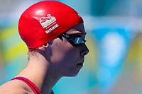 Picture by Alex Whitehead/SWpix.com - 09/04/2018 - Commonwealth Games - Swimming - Optus Aquatics Centre, Gold Coast, Australia - Anna Maine of England competes in the Women's 50m Backstroke heats.