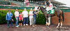 Banner Elk Lady winning at Delaware Park on 8/1/13