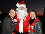 Charlie O'Brien and Chloe Waters pictured at the Clogherhead Christmas fair. Photo: Colin Bell/pressphotos.ie