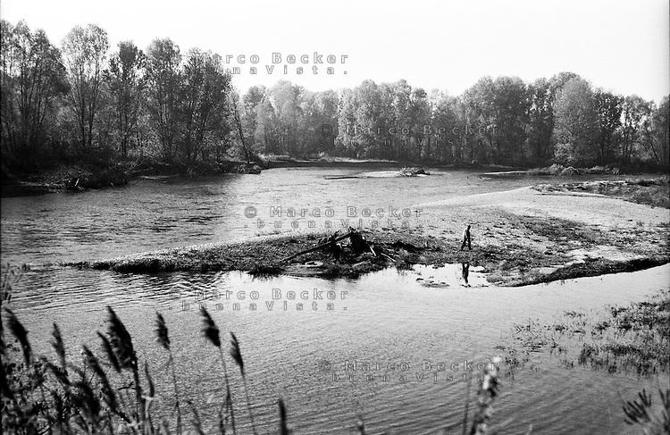 Il fiume Adda presso Boffalora D'adda (Lodi) --- The river Adda near Boffalora D'adda (Lodi)