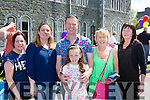Denise Lyne, Geraldine, Tomas, Noreen and Roisin O'Sullivan and Bridget Thompson at theSt Brendan's College Fayre day on Sunday