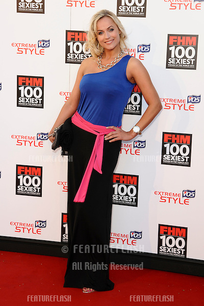 Pollyanna Woodward arrives for the FHM 100 Sexiest Women 2001 party at No.1 Marylebone, London. 04/05/2011  Picture by: Alexandra Glen / Featureflash
