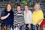 Enjoying the Knocknagoshel Senior Citizens lunch at the Brogue Inn, Tralee on Saturday last were l-r: Kathleen Meeley, Anne McAuliffe, Kathleen Cotter and Joan Browne.