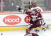 Justin Braun (UMass - 27), Paul Carey (BC - 22) - The Boston College Eagles defeated the University of Massachusetts-Amherst Minutemen 2-1 (OT) on Friday, February 26, 2010, at Conte Forum in Chestnut Hill, Massachusetts.
