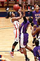 SAN ANTONIO , TX - MARCH 6, 2010: The Stephen F. Austin University Ladyjacks vs. The University of Texas At San Antonio Roadrunners Women's Basketball at the UTSA Convocation Center. (Photo by Jeff Huehn)