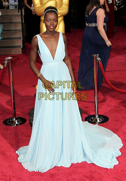 02 March 2014 - Hollywood, California - Lupita Nyong'o. 86th Annual Academy Awards held at the Dolby Theatre at Hollywood &amp; Highland Center. <br /> CAP/ADM/RE<br /> &copy;Russ Elliot/AdMedia/Capital Pictures