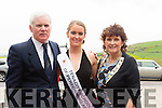 Pat O'Connor,Joanne O'Connor and Geraldine O'Connor from Ballyheigue  before the start of the Kerry Rose Selection on Saturday night at Ballyroe Heights Hotel
