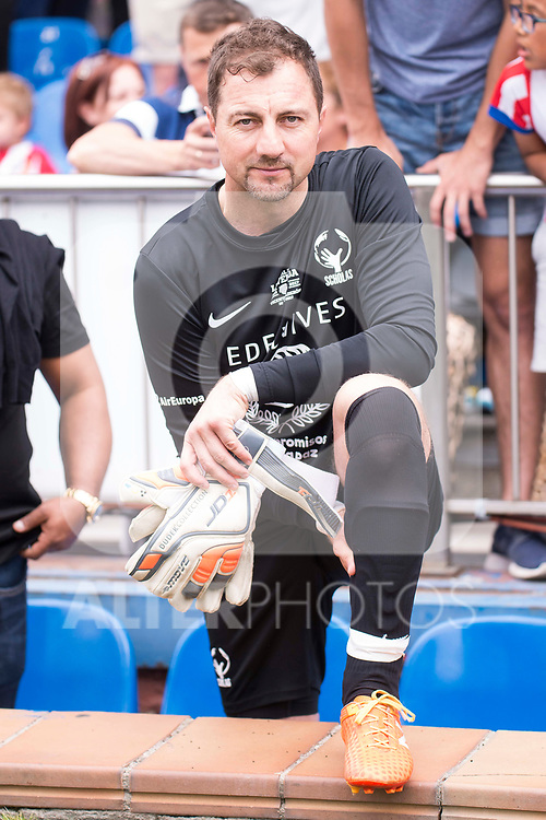 World Legend's Jerzy Dudek during friendly match to farewell  to Vicente Calderon Stadium in Madrid, May 28, 2017. Spain.<br /> (ALTERPHOTOS/BorjaB.Hojas)