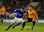 Marc Albrighton of Leicester City in action during the Premier League match at Molineux, Wolverhampton. Picture date: 14th February 2020. Picture credit should read: Darren Staples/Sportimage