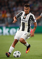 Calcio, Champions League: Juventus vs Siviglia: Torino, Juventus Stadium, 14 settembre 2016. <br /> Juventus' Paulo Dybala in action during the Champions League Group H football match between Juventus and Sevilla at Turin's Juventus Stadium, 16 September 2016.<br /> UPDATE IMAGES PRESS/Isabella Bonotto