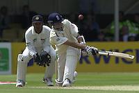 31/05/2002.Sport -Cricket - 2nd NPower Test -Second Day.England vs Sri Lanka.Michael Vaughan [Mandatory Credit Peter Spurrier:Intersport Images]