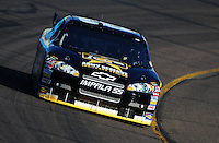Apr 11, 2008; Avondale, AZ, USA; NASCAR Sprint Cup Series driver Mark Martin during practice for the Subway Fresh Fit 500 at Phoenix International Raceway. Mandatory Credit: Mark J. Rebilas-