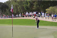 Thorbjorn Olesen (DEN) on the 2nd during Round 2 of the Omega Dubai Desert Classic, Emirates Golf Club, Dubai,  United Arab Emirates. 25/01/2019<br /> Picture: Golffile | Thos Caffrey<br /> <br /> <br /> All photo usage must carry mandatory copyright credit (© Golffile | Thos Caffrey)