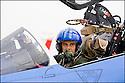 -2008-Salon de Provence- Lieutenant-colonel Thierry Provin (directeur de l'EPAA) avant le décollage. Patrouille de France.