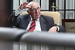 06.07.2014., Croatia, Zagreb - Theodor Meron (* 28. April 1930 in Kalisz, Polen) ist ein amerikanischer Jurist polnischer Abstammung sowie von M&auml;rz 2003 bis November 2005 und erneut seit November 2011 Pr&auml;sident des Internationalen Strafgerichtshofes f&uuml;r das ehemalige Jugoslawien. Im Dezember 2011 erfolgte au&szlig;erdem seine Wahl zum Richter des Internationalen Residualmechanismus f&uuml;r die Ad-hoc-Strafgerichtsh&ouml;fe (IRMCT), der ab Juli 2012 als Nachfolgeinstitution der Ad-hoc-Strafgerichtsh&ouml;fe f&uuml;r das ehemalige Jugoslawien und f&uuml;r Ruanda fungiert. Dar&uuml;ber hinaus wurde er zum ersten Pr&auml;sidenten des IRMCT ernannt.<br /> Foto &copy;  nph / PIXSELL / Robert Anic