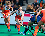 ROTTERDAM - Marloes Keetels (Ned)   tijdens de Pro League hockeywedstrijd dames, Netherlands v USA (7-1)  ..COPYRIGHT  KOEN SUYK