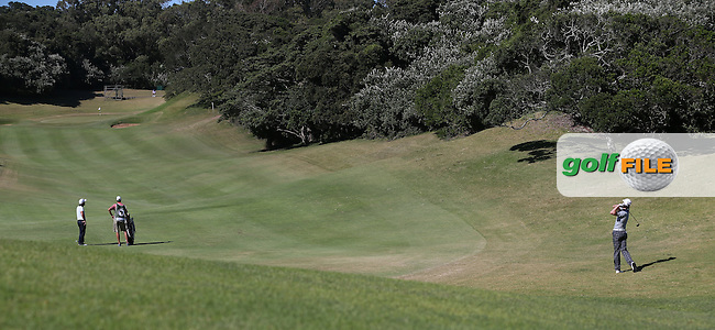 Brett Rumford (AUS) plays second shot to the 9th during Round Three of the Africa Open 2015 at the East London Golf Club, East London, Eastern Cape, South Africa. Picture:  David Lloyd / www.golffile.ie. 07/03/2015
