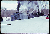Rotary OM and D&amp;RGW #487 K-36 with second engine.<br /> D&amp;RGW  Chama, NM
