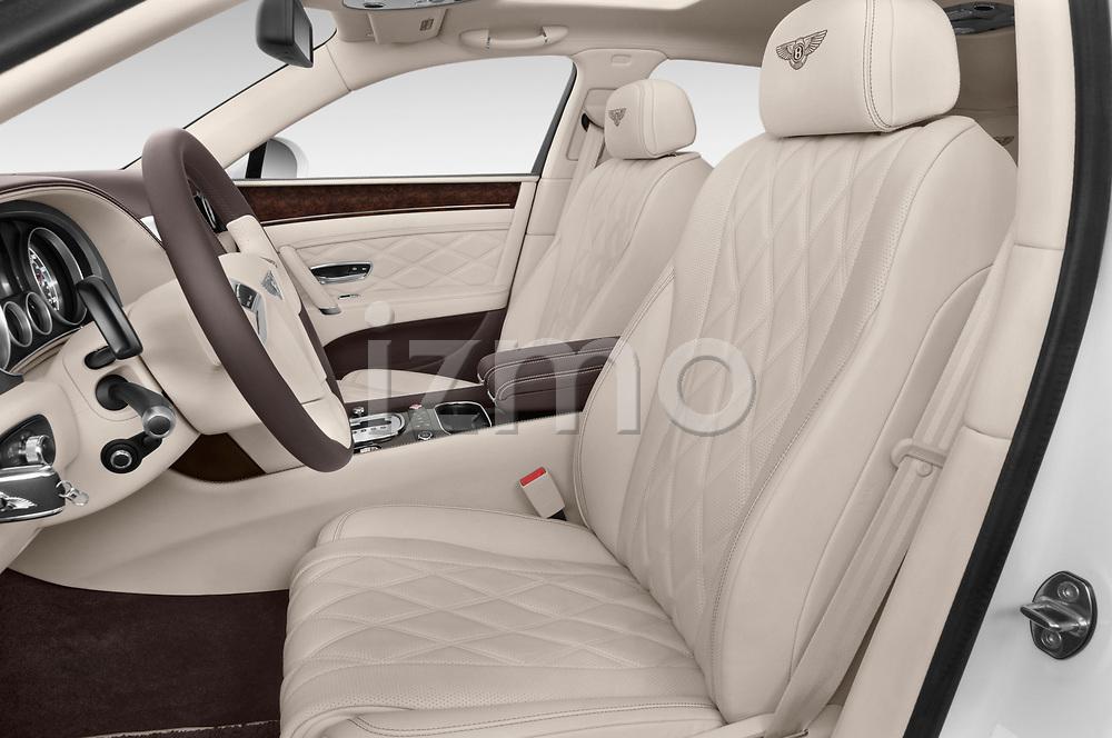 Front seat view of 2016 Bentley Continental   Flying Spur 4 Door Sedan front seat car photos