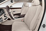 Front seat view of 2016 Bentley Continental   Flying Spur 4 Door Sedan front seat car photos