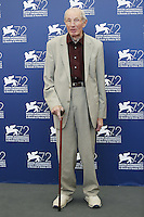 Heinz Lieven attends a photocall for the movie 'Remember' during the 72nd Venice Film Festival at the Palazzo Del Cinema in Venice, Italy, September 10, 2015.<br /> UPDATE IMAGES PRESS/Stephen Richie