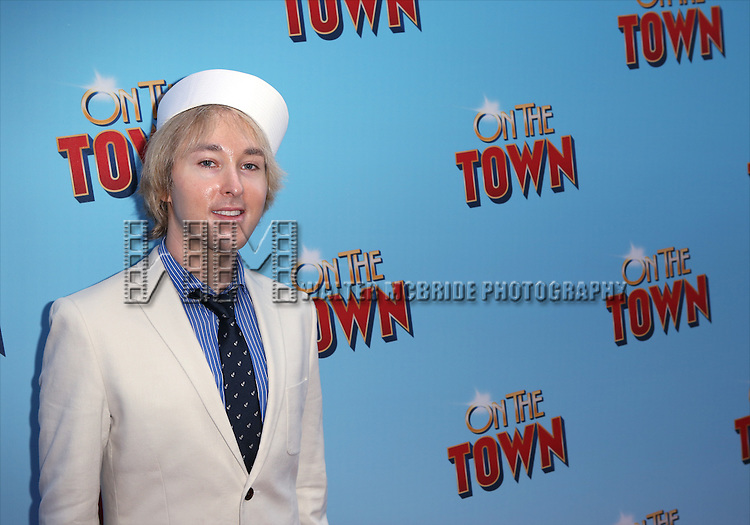 Michael Alden attends the Broadway Opening Night Performance of 'On The Town'  at the Lyric Theatre on October 16, 2014 in New York City.