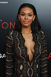 "Actress Crystle Stewart arrives on the red-carpet for Tyler Perry""s ACRIMONY movie premiere at the School of Visual Arts Theatre in New York City, on March 27, 2018."