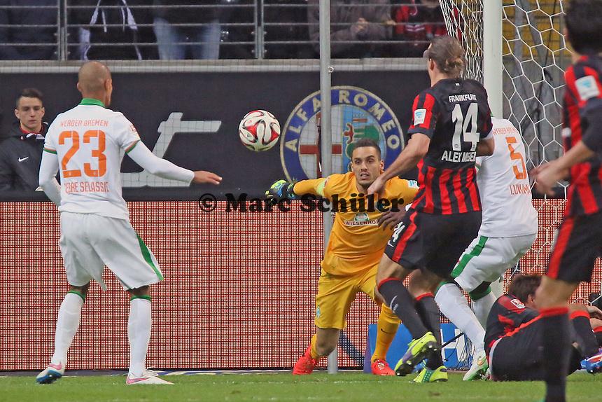 Schusschance fuer Alex Meier (Eintracht) - Eintracht Frankfurt vs. SV Werder Bremen, Commerzbank Arena