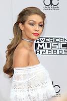 LOS ANGELES - NOV 20: Gigi Hadid at the 2016 American Music Awards at Microsoft Theater on November 20, 2016 in Los Angeles, California