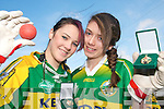 CHAMPIONS: The Kerry Handball Team that won the All Ireland Under 17 60x30 Doubles title in Tipperary last week..L/r. Hazel Prendeville (Ballymacelligott Handball Club) and Alanna Diggin (Tralee Fitzgerald Jones Handball Club).   Copyright Kerry's Eye 2008
